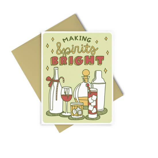 Bright Spirits Card