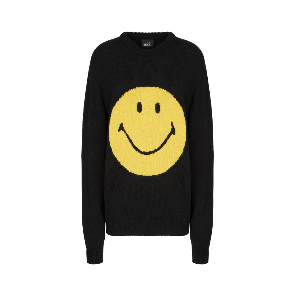 SMILEY BLACK SWEATER