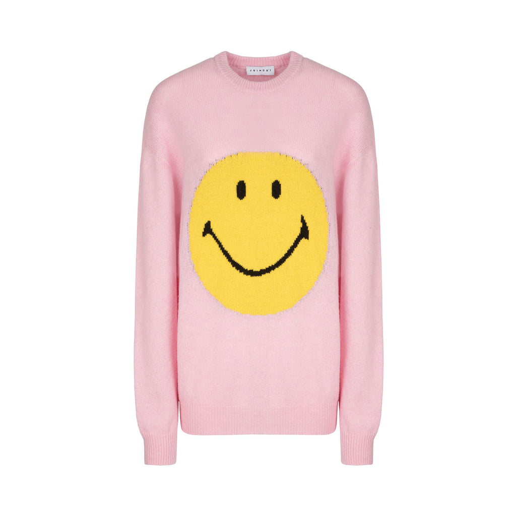 SMILEY PINK SWEATER
