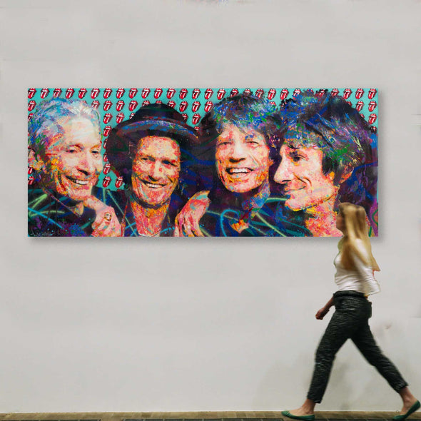 Rolling Stones - Limited Edition Print