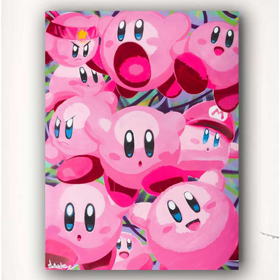The Many Personalities of Kirby - Limited Edition Print