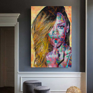 Bad Girl Riri - Limited Edition Print