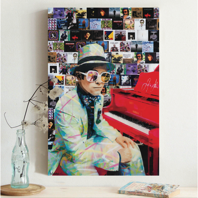 Farewell Yellow Brick Road Elton John Painting - Print