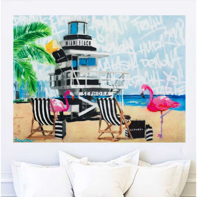 Sephora Beach - Limited Edition Print