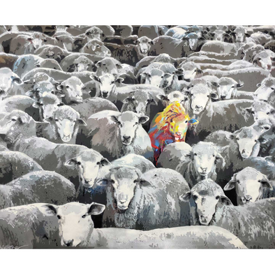 Sheep - Limited Edition Print
