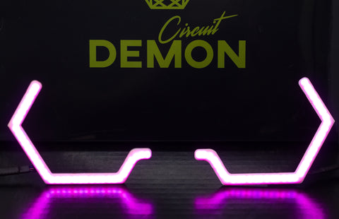 V2 Circuit Demon X Profile Prism Hex halos