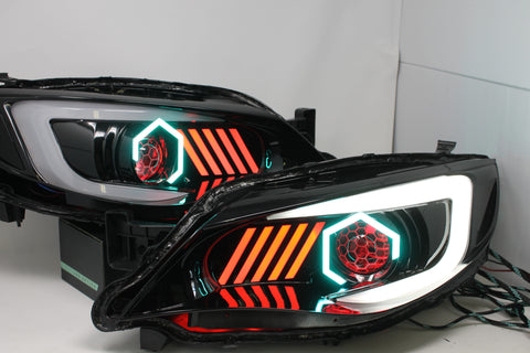 Circuit demon Stage 2 Hex halo OEMassive 08-14 headlights (gills w/ HID)