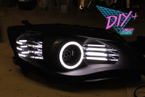 DIY+ 08-14 Impreza/WRX LED high beam plates