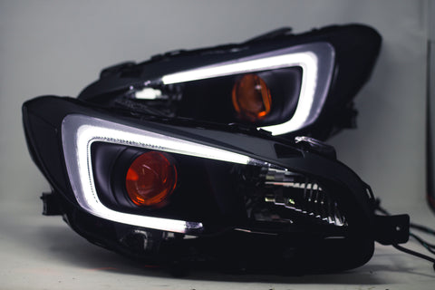 Circuit Demon Stage 1 2015+ WRX headlights Satin