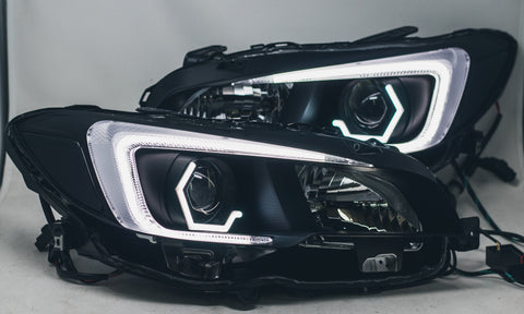 Circuit Demon Stage 1 V2 hex halo 2015+ WRX headlights