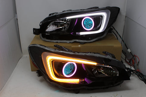 Circuit Demon Stage 3 2015+ WRX Honeycomb headlights