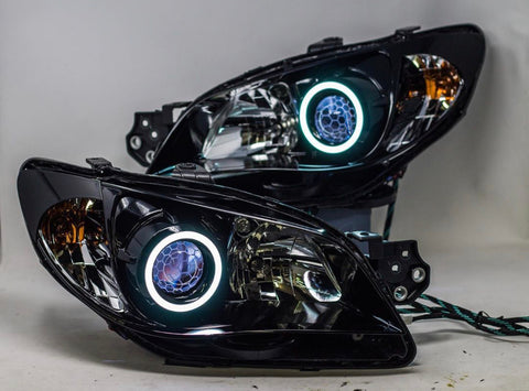 06/07 WRX/STI DIY Retrofit headlight upgrades