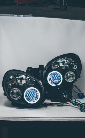 Stage 1 JDM DEPO 02/03 WRX headlights