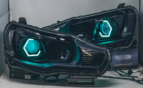 Circuit Demon Stage 2 08-15 Lancer/Evo headlights