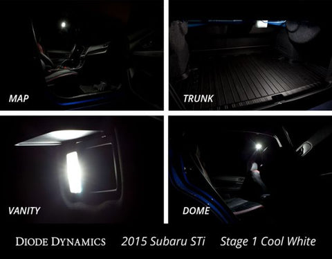 02-07 WRX/STI interior bulb kit