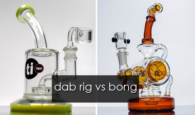 Dab Rig vs. Bong – What is the Difference?