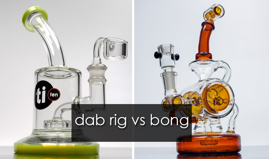 dab rig vs glass bong - best online head shop las vegas