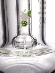 Molecule 12'' fat bottom rig clear dome