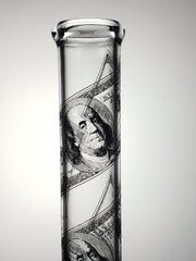 AMG Straight tube with Franklin $100 bill print