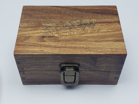 Raw small wood box