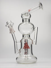 Nexus large recycler with red print