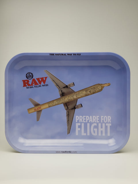 Raw paper planes large tray