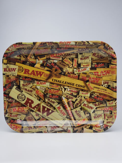 Raw everything raw large rolling tray