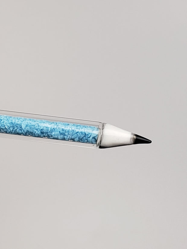 glitter filled dab pencil