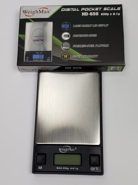 Weigh max HD-650 digital scale