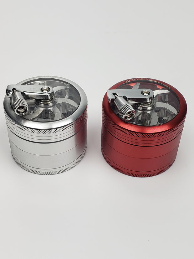 Sharpstone clear top grinder with crank