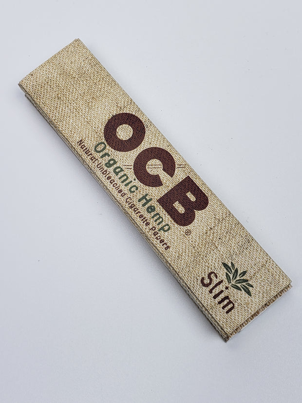 OCB organic hemp rolling papers with tips