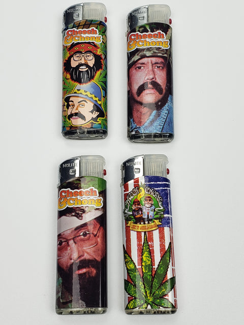 Cheech&Chong lighters with dancing led