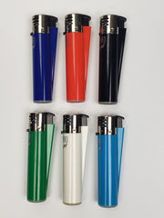 Multi color clipper jet lighters