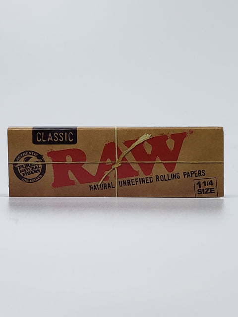 Raw 1 1/4 classic rolling papers