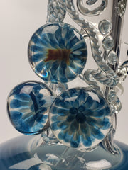 "14"" Hvy tag beakers with worked marbles"