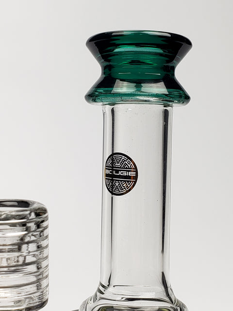 Bougie mini waterpipe with  green shower-head & mouthpiece