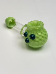 Honeycomb spoon with glass screen
