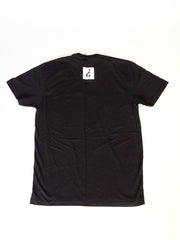 Absnt Minded black t-shirt with small print