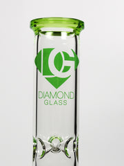 "16"" Diamond Glass dual chamber can"
