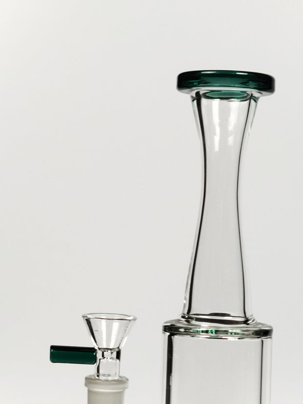 "10"" Titen stemless can bong"