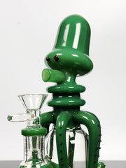 Lookah colored octopus bong