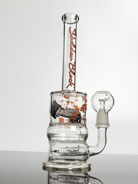 Sheldon Black 10'' full stack with dab hand print