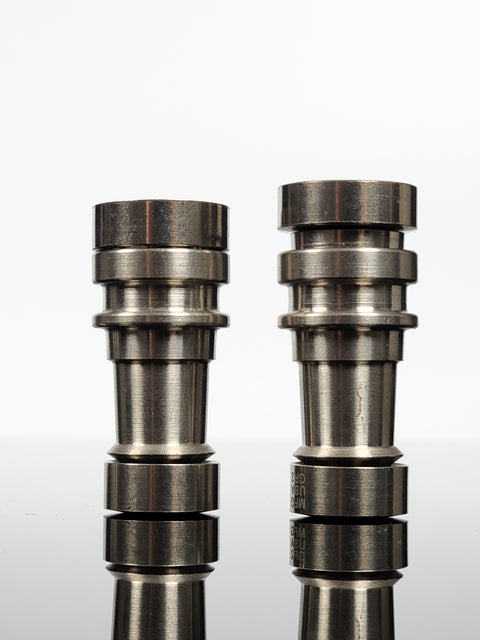 "2"" Male titanium reversible domeless nail"