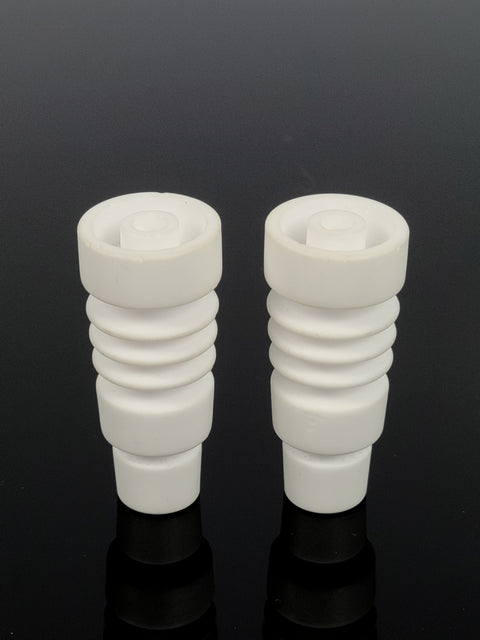 "2"" Male ceramic ringed domeless nail"