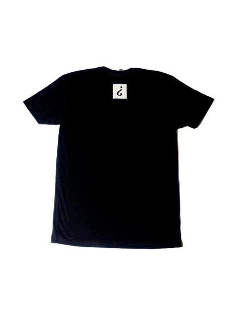 Absnt Minded black t-shirt with large print