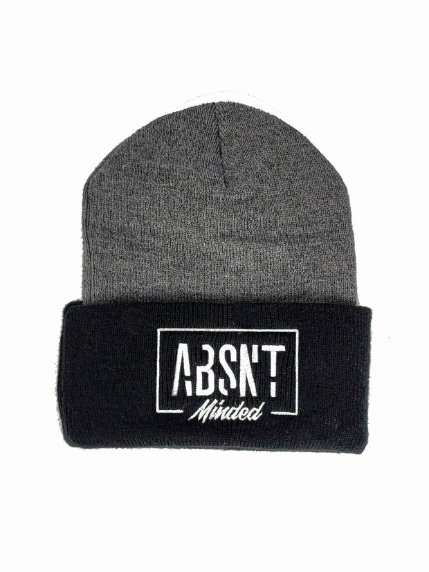 Absnt Minded oxford/black beanie