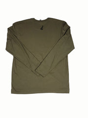 Absnt Minded long sleeve military green t-shirt