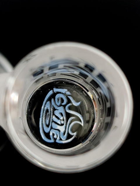 Ignite Quartz etched frosted banger 14mm