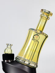 Peak Glass Tops Sunset Fume w/ opal Puffco attachment