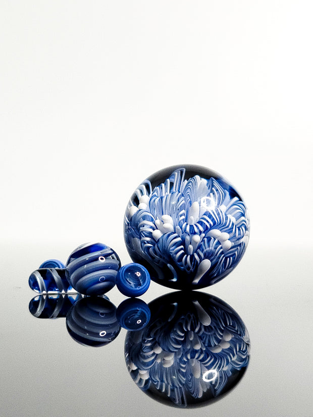 Terp slurper aquatic marble sets artist Glass by Keri